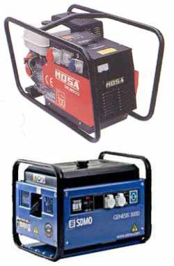 Stromerzeuger - Instandsetzung und Vermietung